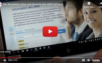 Die aktuellsten Infos und Services des AMS Salzburg